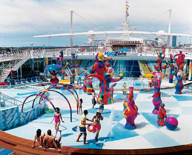 freedom of the seas h2O zone