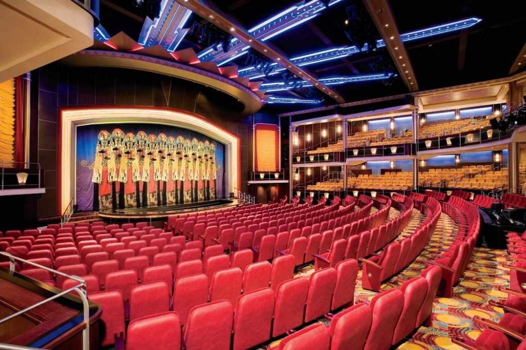 freedom of the seas teatr