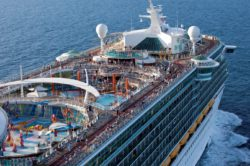 Aerial Freedom at Sea in the vicinity of Labadee Haiti Freedom of the Seas - Royal Caribbean International