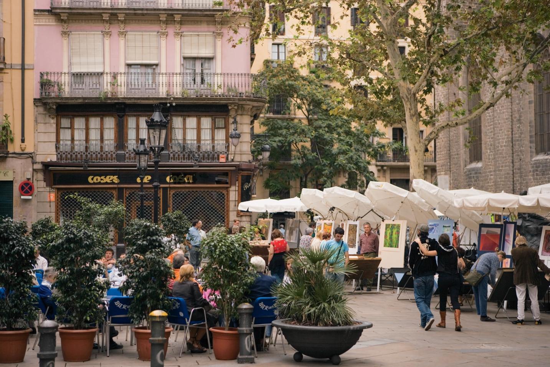 CEL_Barcelona_PlazaStJosephOriol